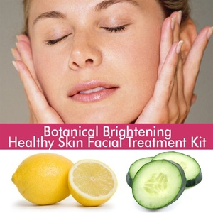 June Jacobs Botanical Brightening Healthy Skin Facial Treatment Kit - 60 Minute Treatment