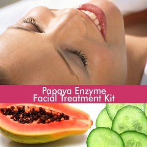 June Jacobs Papaya Enzyme Facial Treatment Kit - 60 Minute Treatment
