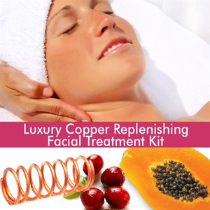 June Jacobs Luxury Copper Replenishing Facial Treatment Kit - 90 Minute Treatment