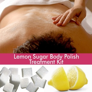 June Jacobs Lemon Sugar Body Polish Treatment Kit - 30 Minute Treatment