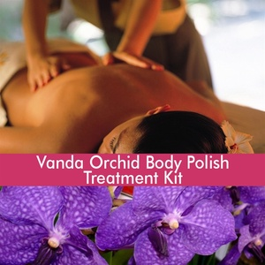 June Jacobs Vanda Orchid Body Polish Treatment Kit - 60 Minute Treatment