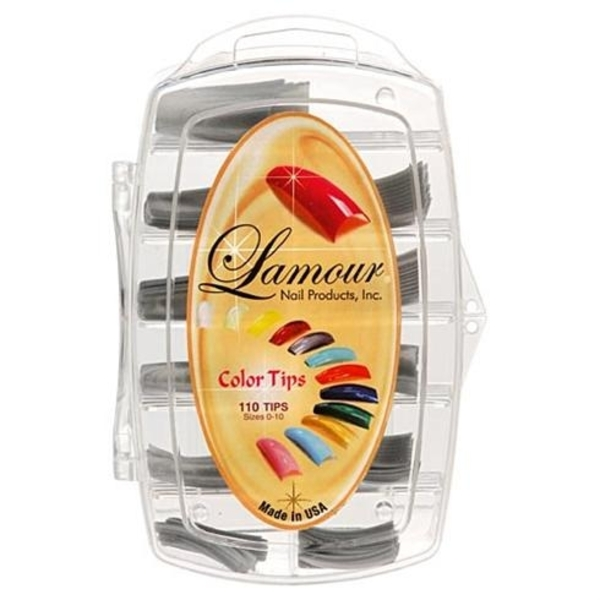 Lamour Colored Nail Tip # L-13 Box of 110 (110241)