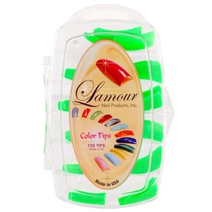 Lamour Colored Nail Tip # L-47 Box of 110 (110308)