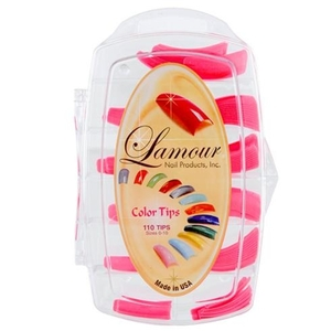 Lamour Colored Nail Tip # L-54 Box of 110 (110310)