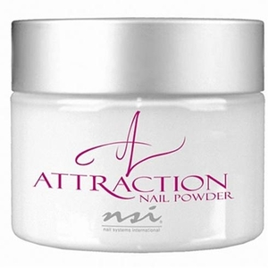 NSI Attraction Acrylic Powder - Radient White 4.5 oz. (110704)