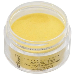 Artisan Color Acrylic Powder - Deep Yellow 0.5 oz. (119128)