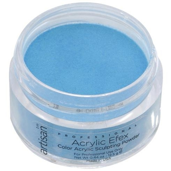 Artisan Color Acrylic Powder - Turquoise 0.5 oz. (119133)