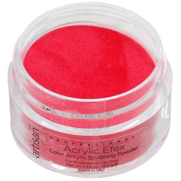 Artisan Color Acrylic Powder Pro Size - Red 1 oz. (119146)
