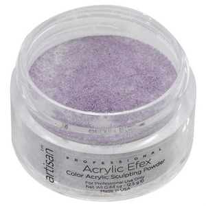Artisan Color Acrylic Powder Pro Size - Purple Glitters 1 oz. (119155)