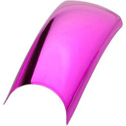 Artisan Colored Nail Tips - Metallic Bright Pink Pack of 100 (119502)