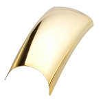 Color Nail Tips - Metallic Gold Pack of 100 (119504)