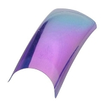 Color Nail Tips - Metallic Opal Purple Pack of 100 (119507)
