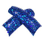 Artisan Sparkle Glitter Nail Tips - Royal Blue Command 100 Pieces (119556)