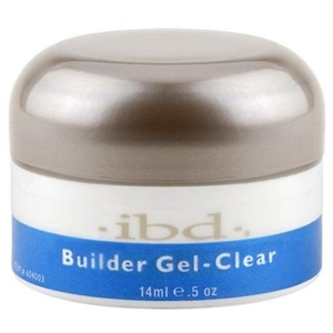 IBD Gel Nail Builder Gel - Clear 0.5 oz. (120017)