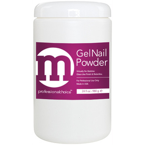 M Professional Choice - Gel Nail Powder - Ultra Fine - Ultra Clear 24 oz. (680.38 grams) (128000)