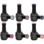 Artisan GelEfex Gel Nail Polish 6 Pieces - Advanced Formula - Nordic Dreams Collection - 6 x 0.5 oz (128552)