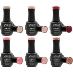 Artisan GelEfex Gel Nail Polish 6 Pieces - Advanced Formula - Back to Earth Collection - 6 x 0.5 oz (128602)