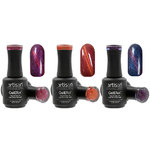 Artisan GelEfex Magnetic Cat Eye Gel Nail Polish 3 Pieces - Shimmer Vibes Collection - 3 x 0.5 oz (128603)