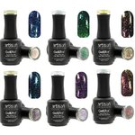 Artisan GelEfex Chameleon Gel Nail Polish 6 Pieces - Mermaid Collection - 6 x 0.5 oz (128604)