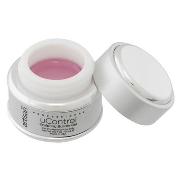 uControl Crystal Pink Builder Gel - 0.5 oz. 14.79 mL. (129149)