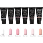 Artisan FlexGel Nail Enhancement 6 Colors - French Manicure Collection - 6 x 2 oz (129517)