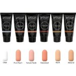 Artisan FlexGel Nail Enhancement 6 Colors - Elegant Nudes Collection - 6 x 2 oz (129518)