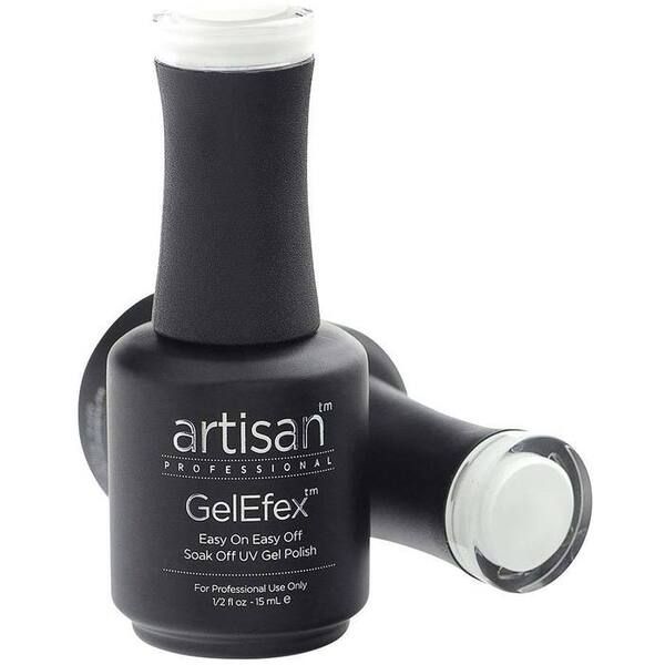 Artisan GelEfex Gel Nail Polish - Advanced Formula - Vivid White - 0.5 oz (15 mL.) (129816)