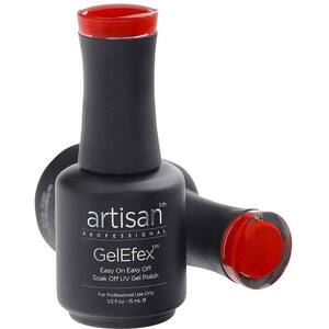 Artisan GelEfex Gel Nail Polish - Advanced Formula - Hydrant Haute Red - 0.5 oz (15 mL.) (129831)