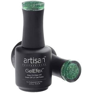 Artisan GelEfex Gel Nail Polish - Advanced Formula - Lustrous Emerald - 0.5 oz (15 mL.) (129837)