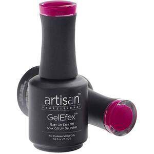 Artisan GelEfex Gel Nail Polish - Advanced Formula - Ritzy Pink - 0.5 oz (15 mL.) (129843)