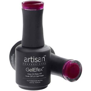 Artisan GelEfex Gel Nail Polish - Advanced Formula - Juicy Grape - 0.5 oz (15 mL.) (129863)