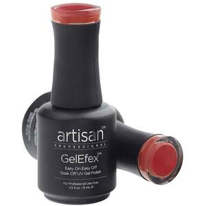 Artisan GelEfex Gel Nail Polish - Advanced Formula - Peachy Pink - 0.5 oz (15 mL.) (129866)