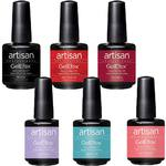Artisan GelEfex Gel Nail Polish - Girl Next Door Collection - Set of 6 Pieces (129909)