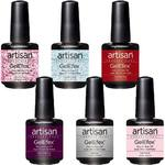 Artisan GelEfex Gel Nail Polish - Miss Sophistication Collection - Set of 6 Pieces (129912)