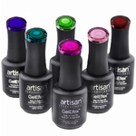 Artisan GelEfex Metallic Gel Nail Polish - Advanced Formula - Starlight Collection - Set of 6 (129968)