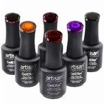 Artisan GelEfex Metallic Gel Nail Polish - Advanced Formula - Magical Metallics Collection - Set of 6 (129970)