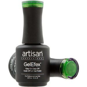 Artisan GelEfex Magnetic Cat Eye Gel Nail Polish - Emerald Envy - 0.5 oz (14.79 ml) (129977)