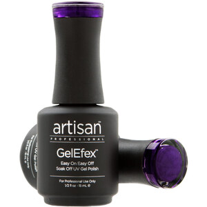 Artisan GelEfex Magnetic Cat Eye Gel Nail Polish - Purple Aurora - 0.5 oz (14.79 ml) (129979)