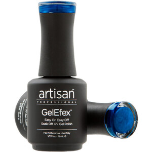 Artisan GelEfex Magnetic Cat Eye Gel Nail Polish - Incandescent Blue - 0.5 oz (14.79 ml) (129980)