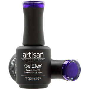 Artisan GelEfex Magnetic Cat Eye Gel Nail Polish - Purple's My Camouflage - 0.5 oz (14.79 ml) (129981)