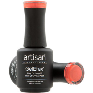 Artisan GelEfex Magnetic Cat Eye Gel Nail Polish - Orange Opal - 0.5 oz (14.79 ml) (129982)