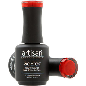 Artisan GelEfex Magnetic Cat Eye Gel Nail Polish - Scarlet Ruby - 0.5 oz (14.79 ml) (129983)