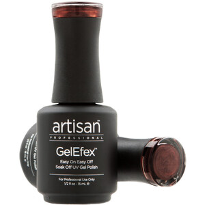 Artisan GelEfex Magnetic Cat Eye Gel Nail Polish - Chameleon Brown - 0.5 oz (14.79 ml) (129984)