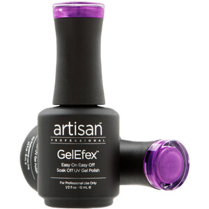Artisan GelEfex Magnetic Cat Eye Gel Nail Polish - Magnetic Explosion - 0.5 oz (14.79 ml) (129985)