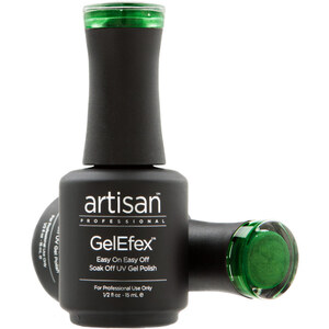 Artisan GelEfex Magnetic Cat Eye Gel Nail Polish - Green Guise - 0.5 oz (14.79 ml) (129986)