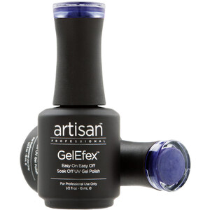 Artisan GelEfex Magnetic Cat Eye Gel Nail Polish - Purple Pearls - 0.5 oz (14.79 ml) (129988)