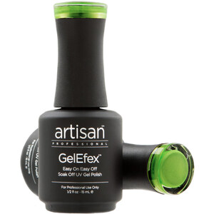 Artisan GelEfex Magnetic Cat Eye Gel Nail Polish - Green Radiance - 0.5 oz (14.79 ml) (129992)