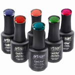 Artisan GelEfex Magnetic Cat Eye Gel Nail Polish - Aurora in Antarctica Collection - 6 x 0.5 oz (129994)