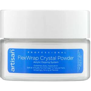 Artisan FlexWrap Crystal Clear Acrylic Dipping Powder - Bubble Free & Non Yellowing Formula - 3 oz. (85.05 grams) (139000)