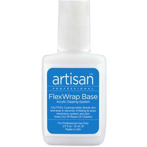 Artisan FlexWrap Base Resin - Acrylic Dipping System Bonder - 0.5 oz. (14.79 mL.) (139002)